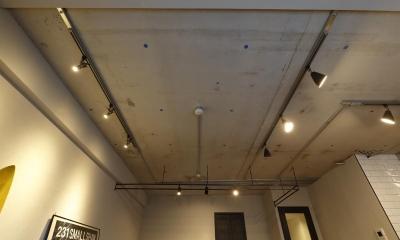 コンクリート剥き出しの天井 MANSION RENOVATION PACK 780 -札幌市豊平区S邸-