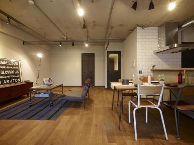 MANSION RENOVATION PACK 780 -札幌市豊平区S邸- (リビングルーム)