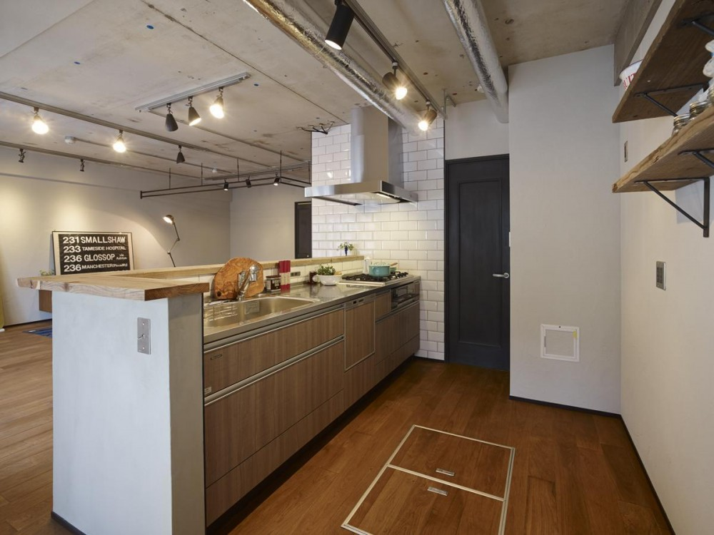 MANSION RENOVATION PACK 780 -札幌市豊平区S邸- (キッチン)