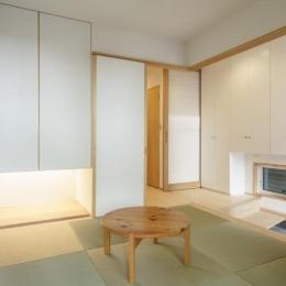 巣鴨の家-和室