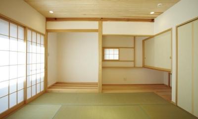 四つ葉 〜光溢れる木の家〜 (和室)