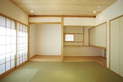 和室 (四つ葉 〜光溢れる木の家〜)