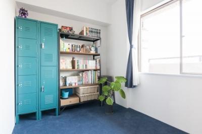 趣味の部屋 (H邸-横浜の景色を生かすための「床上+40センチ」)