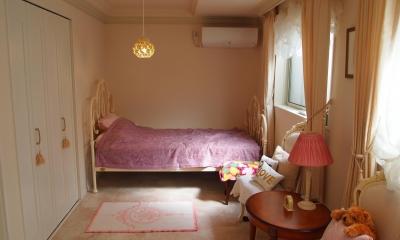 寝室 エレガントで上品なヨーロピアンスタイル