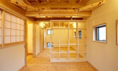 結 〜丸窓のある木の家〜 (子供部屋)