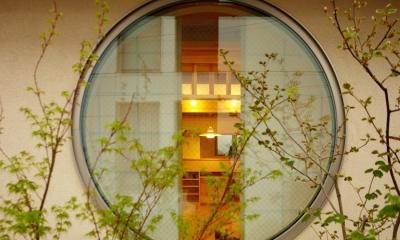 結 〜丸窓のある木の家〜