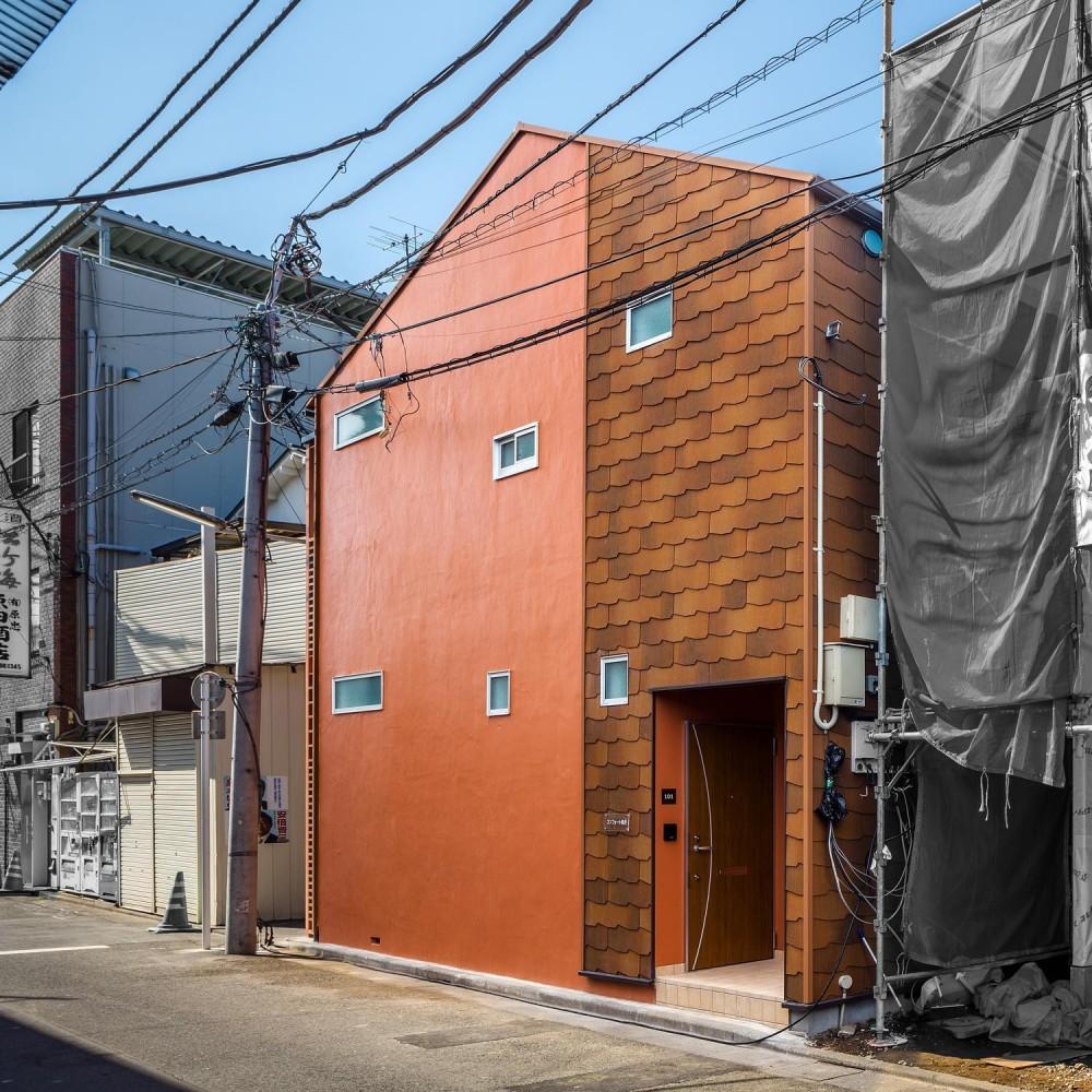 建築家:(株)小木野貴光アトリエ一級建築士事務所「可愛らしく変わった、リノベーションアパートメント」