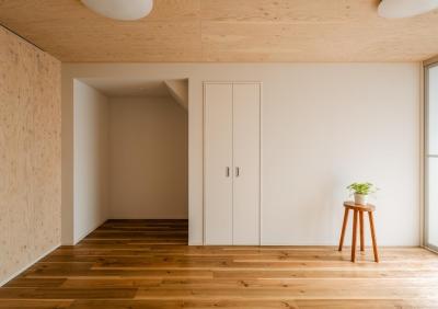リビング|リノベーションアパートメント|東京都北区 (可愛らしく変わった、リノベーションアパートメント)