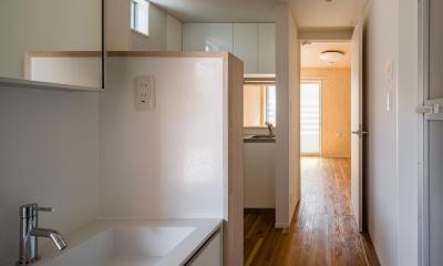 可愛らしく変わった、リノベーションアパートメント (多目的室|リノベーションアパートメント|東京都北区)
