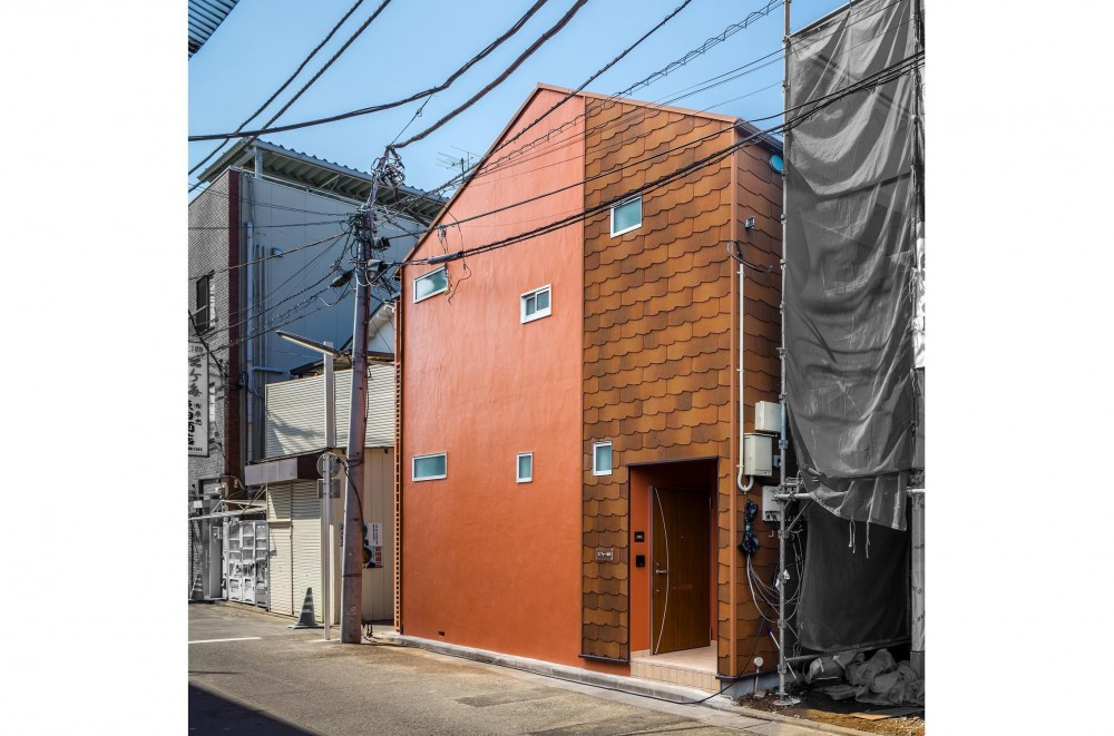 可愛らしく変わった、リノベーションアパートメント (外観|リノベーションアパートメント|東京都北区)