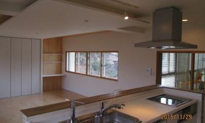 洋室2間をLDKに変身させた2世帯住宅リフォーム 堺市南区