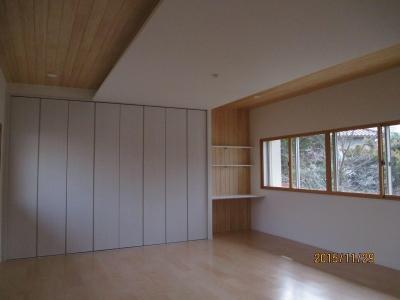洋室2間をLDKに変身させた2世帯住宅リフォーム 堺市南区 (LDK)
