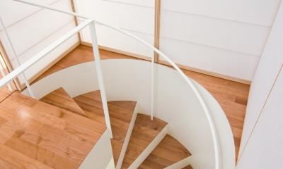 中野の家 (階段)