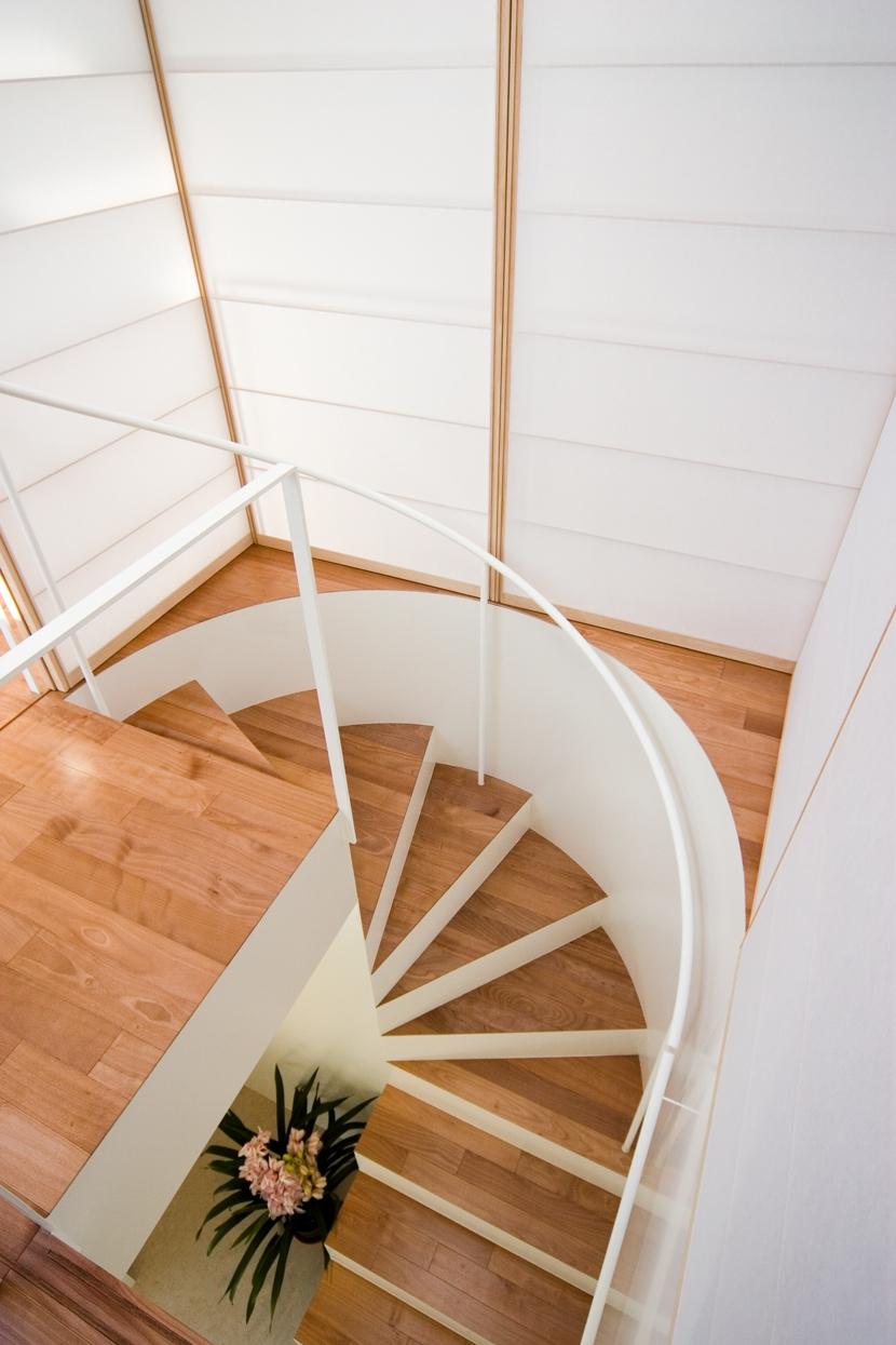 中野の家の写真 階段