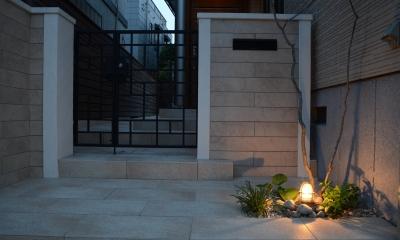 横浜市N邸プロジェクト (横浜市N邸プロジェクト 夜景)