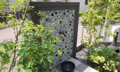 東京都稲城市外構リフォームプロジェクト (お庭水栓廻りリフォーム)