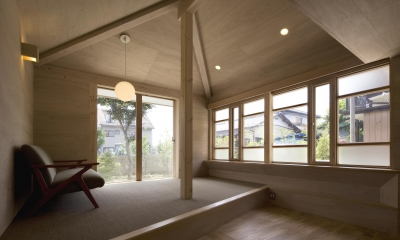 リビング|川越の住居 / House in Kawagoe