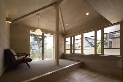 川越の住居 / House in Kawagoe (リビング)