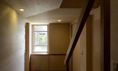 川越の住居 / House in Kawagoe (玄関)