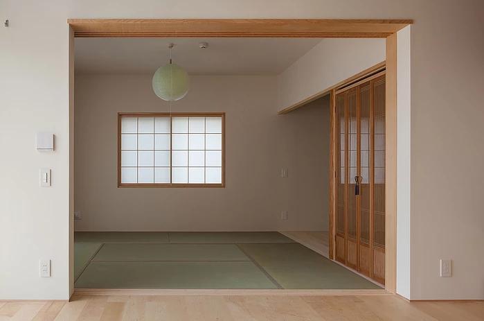 葛飾の家/IW邸 (西端の和室)