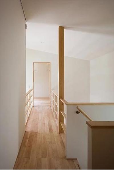 葛飾の家/IW邸 (2階のブリッジ)