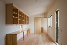 葛飾の家/IW邸 (2階ファミリーのリビング)