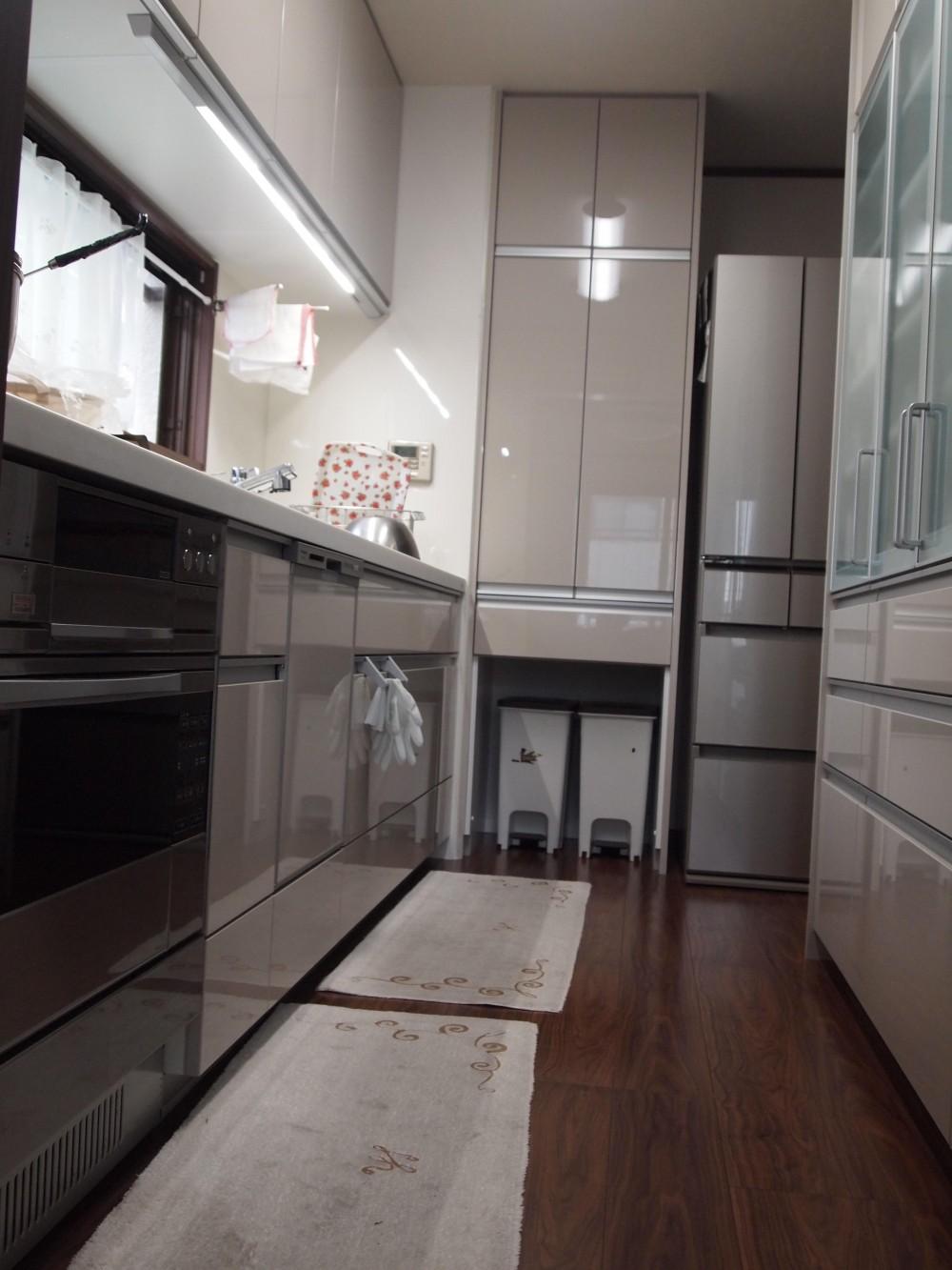 大阪市住吉区 3階建て鉄骨リフォーム (キッチン)