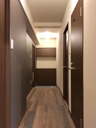 玄関・廊下 (浅草マンションリノベーション)