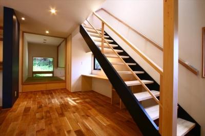 階段 (大庭の住まい)