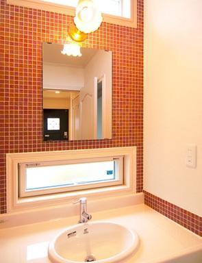 S邸の部屋 洗面室