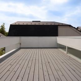 南千束の家 (屋上)