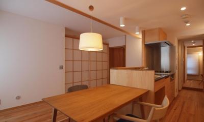 ワンルーム空間でシンプルに暮らす都市部マンションリノベーション