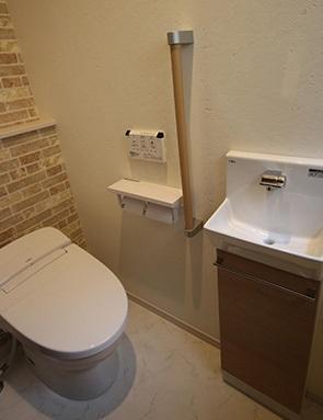 T邸の部屋 トイレ
