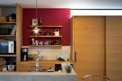 キッチン (CASE 386 | パークサイドハウス)