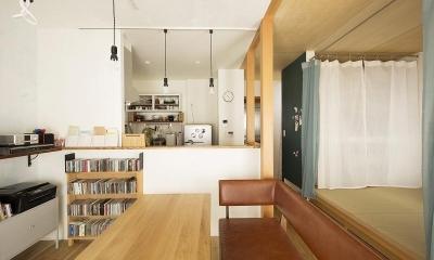 小上がりの畳スペースを有効活用