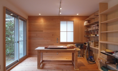 DIYを愉しむワークスペースのある戸建てリフォーム