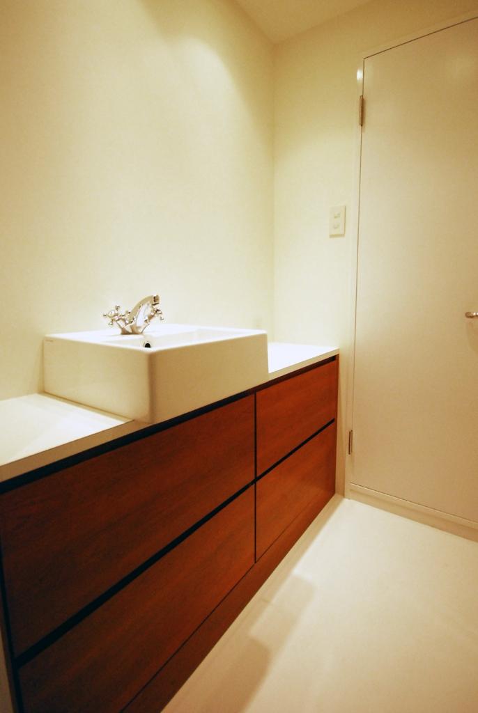 中目黒 マンション リノベーションの部屋 洗面