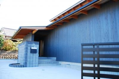 村主の家 (玄関)
