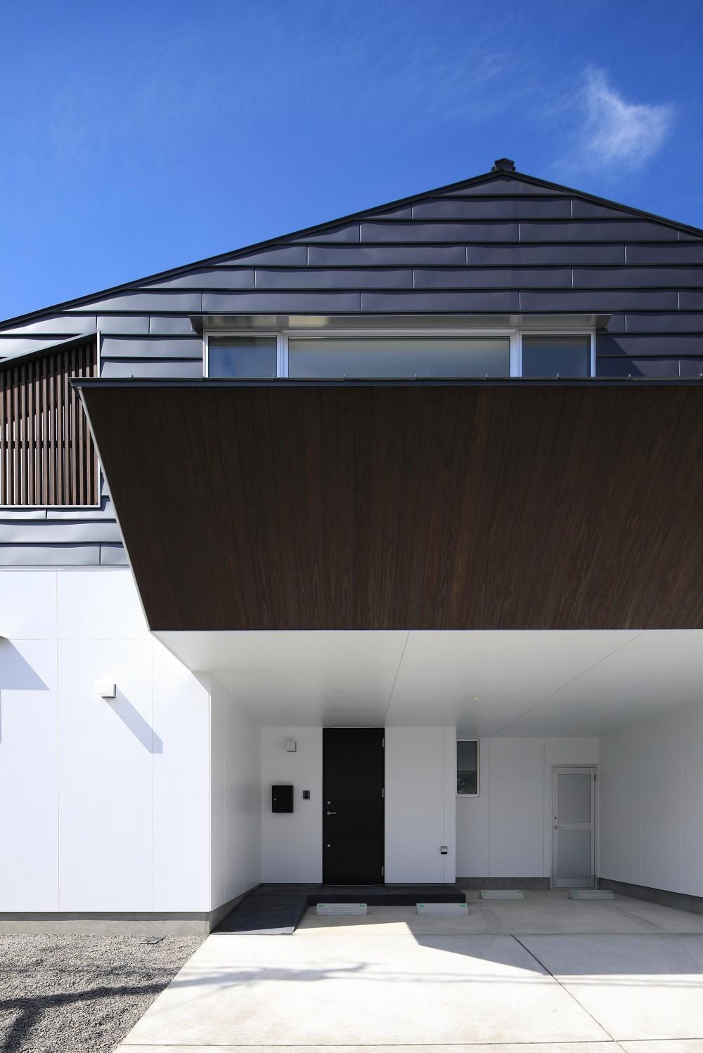 小松の家~シンプルモダンの家~ (東側外観)