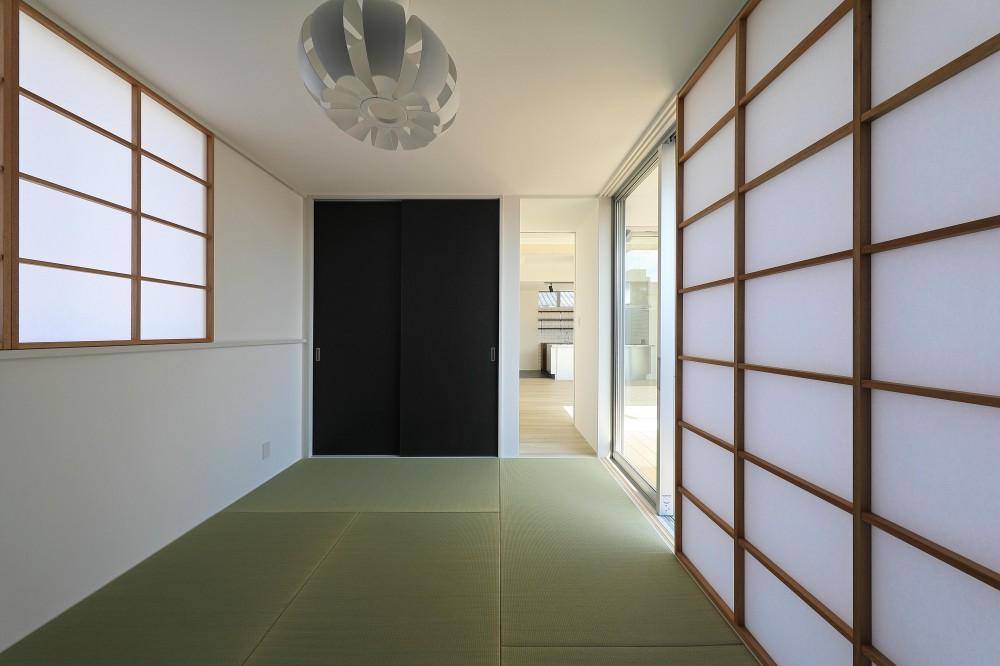 小松の家~シンプルモダンの家~ (客間)