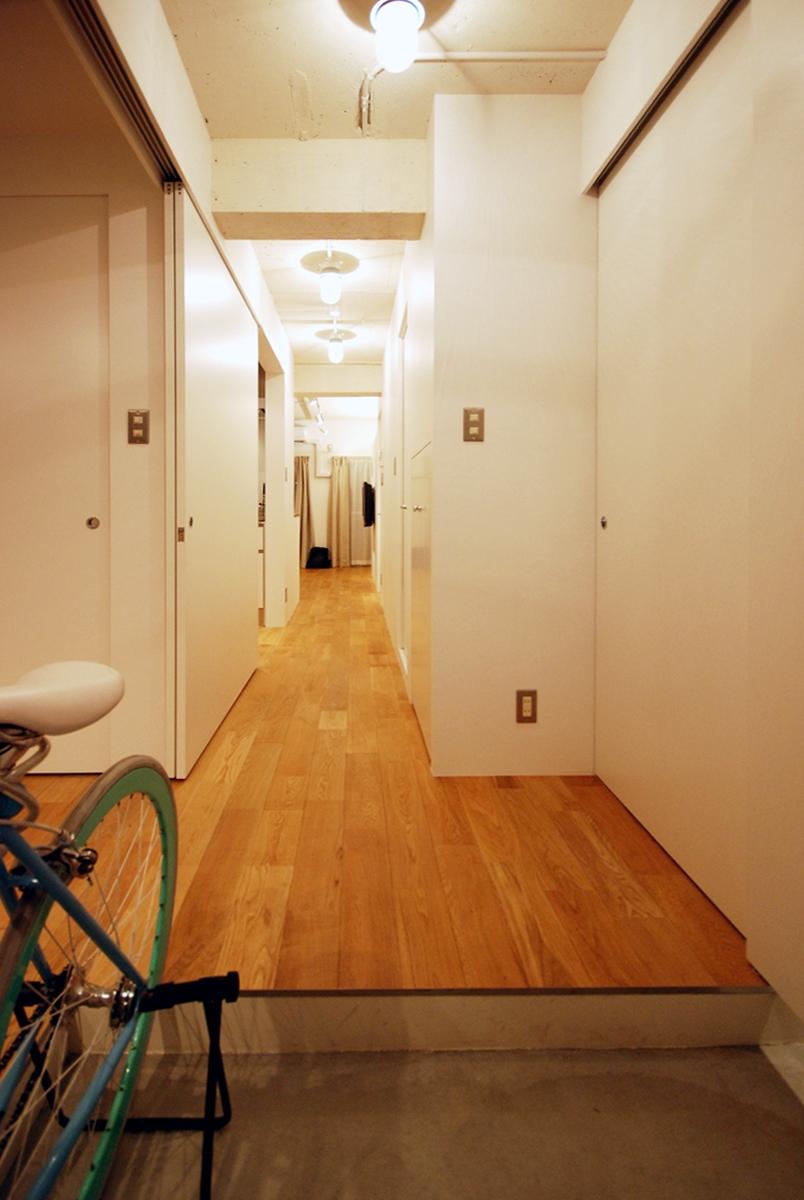 両国 マンションリノベーションの部屋 廊下