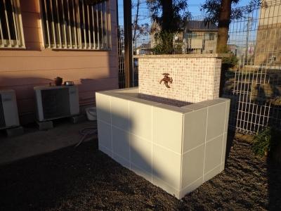 お庭の手洗い場 (庭のオアシス)