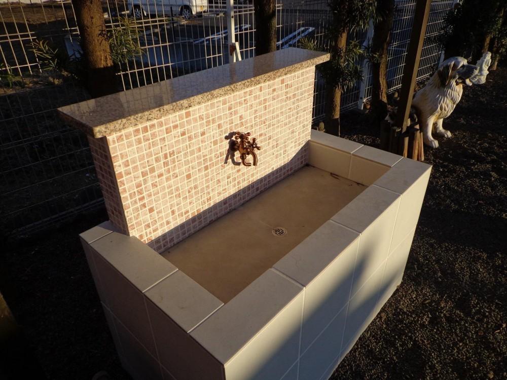 庭のオアシス (お庭の洗い場)
