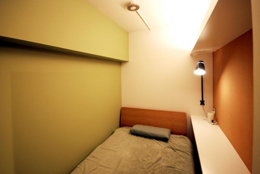 両国 マンションリノベーション (寝室)