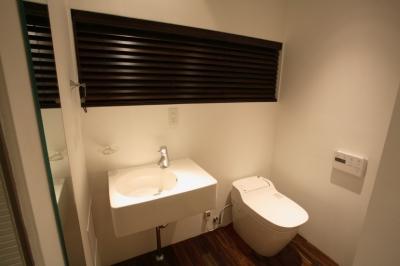 常盤台 マンションリノベーション (トイレ)