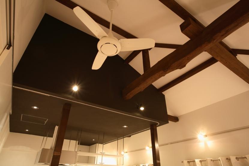 常盤台 マンションリノベーション (天井)