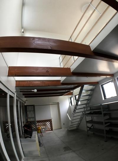 『ハコノイエ3 増築』 (玄関)