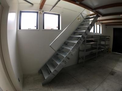 『ハコノイエ3 増築』 (階段)