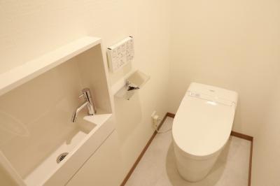 祖師谷大蔵リノベーションプロジェクト (タンクレストイレ)