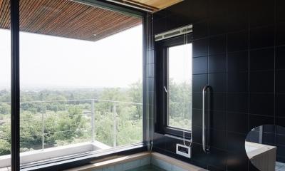 対岳荘 (浴室は疲れを癒す場所)